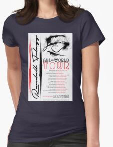 Randall Flagg World Tour- Contemporary/Jazz/Prog Rock Womens Fitted T-Shirt