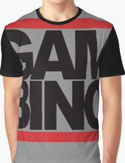 RUN GAMBINO Graphic T-Shirt