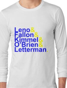 Late Night Jetset Long Sleeve T-Shirt