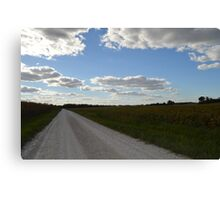 Country road. Canvas Print