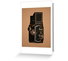 Rolleicord Greeting Card