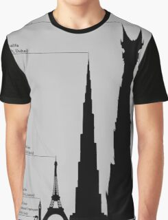 Towering Sauron Graphic T-Shirt