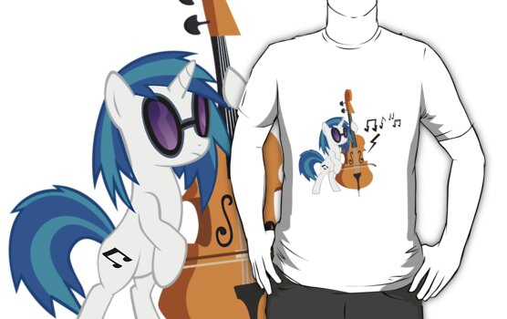 Vinyl Scratch.. Double Bass? by Jaelachan