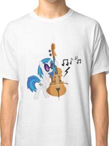 Vinyl Scratch.. Double Bass? Classic T-Shirt