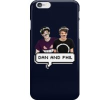 Dan and Phil - Flower Text iPhone Case/Skin