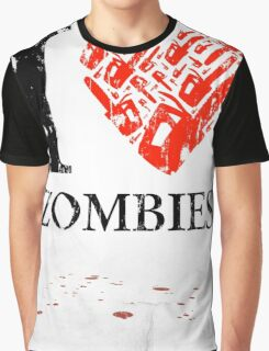 I Love Zombies (Version 01) Graphic T-Shirt
