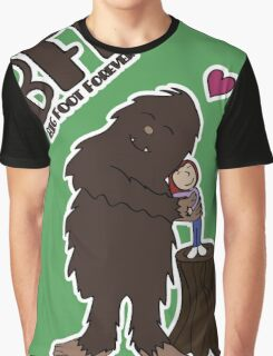Big Foot Forever Graphic T-Shirt