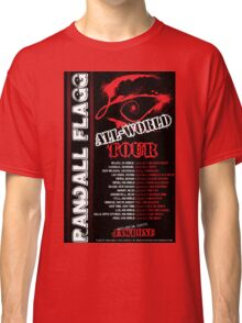 Randall Flagg World Tour- 80s Metal/Rock Style Classic T-Shirt