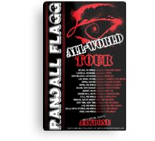 Randall Flagg World Tour- 80s Metal/Rock Style Metal Print