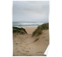 Aire River Beach Poster