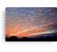 A Spectacular Frankland Sunrise Canvas Print
