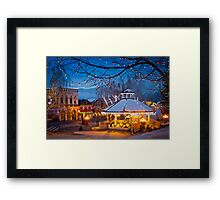 Leavenworth Holidays Framed Print