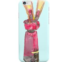 V for Victory? Vengeance? Peace? or Closure? iPhone Case/Skin