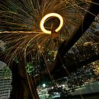 Fire Angel Xmas Tree I by Alexander Kesselaar