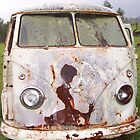 Old Rusty VW Kombi by Bami