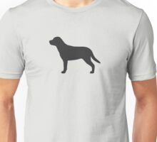 Greater Swiss Mountain Dog Silhouette(s) Unisex T-Shirt