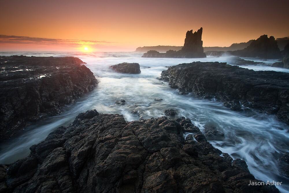 """Cathedral Sunrise"" ∞ Kiama, NSW - Australia by Jason Asher"