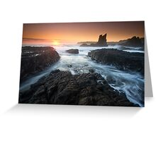 """Cathedral Sunrise"" ∞ Kiama, NSW - Australia Greeting Card"