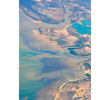 Western Australia at 10 km height Photographic Print