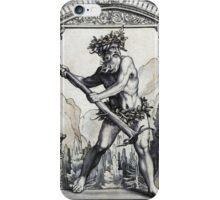 The Earth Mightily Shook iPhone Case/Skin