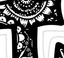 T Doodle Letter Sticker