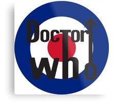 Doctor Who Metal Print