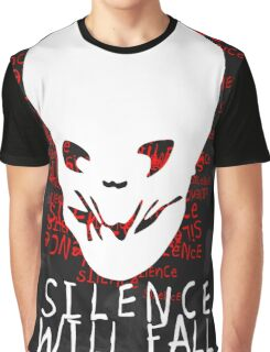 Silence Will Fall Graphic T-Shirt