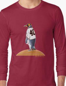 Bumgarner Penguin Long Sleeve T-Shirt