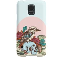 Laughing bird Samsung Galaxy Case/Skin