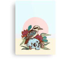 Laughing bird Metal Print