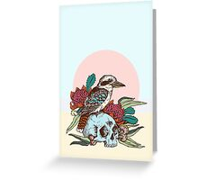 Laughing bird Greeting Card