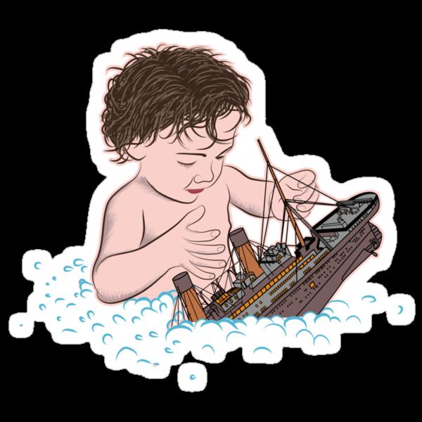 Titanic Toy by zomboy