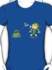 Link and a frog T-Shirt