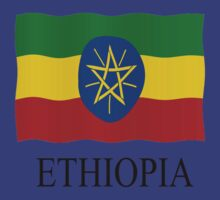 Ethiopia flag by stuwdamdorp