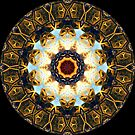 Golden Symbol Kaleidoscope 02 by fantasytripp
