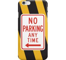 Traffic signs iPhone Case/Skin