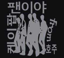 KPOP Fan from Australia in Korean  by cheeckymonkey