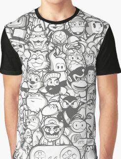 Super 16 bit Graphic T-Shirt