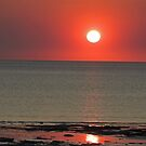 Sunset, Cable Beach, Broome, Western Australia by Margaret  Hyde