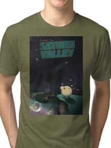 Greetings from Saturn Valley Tri-blend T-Shirt