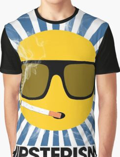 HIPSTERISM (SERIES) [blue/black] Graphic T-Shirt
