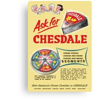 Chesdale Cheese Canvas Print