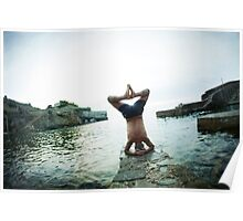 Yoga 7 by the beach, Sirsana in Mallorca Poster