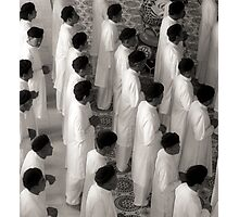 We pray as one Photographic Print