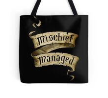 Mischief Managed Banner Tote Bag
