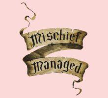Mischief Managed Banner Kids Clothes