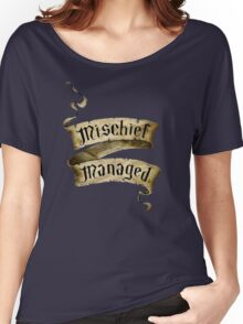Mischief Managed Banner Women's Relaxed Fit T-Shirt