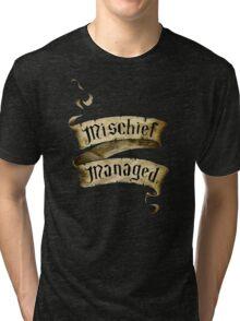 Mischief Managed Banner Tri-blend T-Shirt
