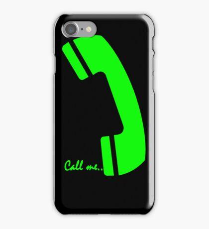 please call me iPhone Case/Skin