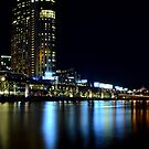 Melbourne at Night 0322 by Kayla Halleur